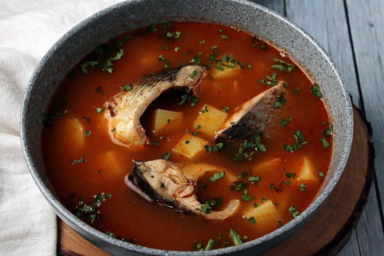 Karpfensuppe