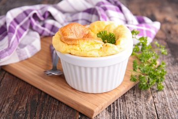 Parmesan-Soufflé
