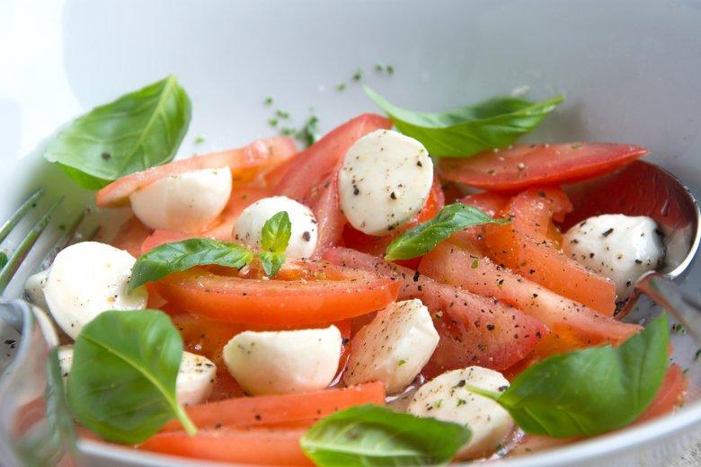 Tomaten-Mozzarella Salat