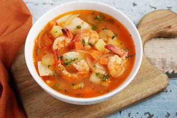 Griechische Fischsuppe