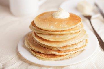 Pancakes mit Stevia
