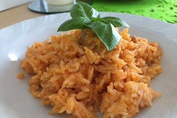 Reisfleisch mit Pute