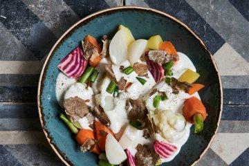 Schnüüsch mit getrockneter Kartoffelschale