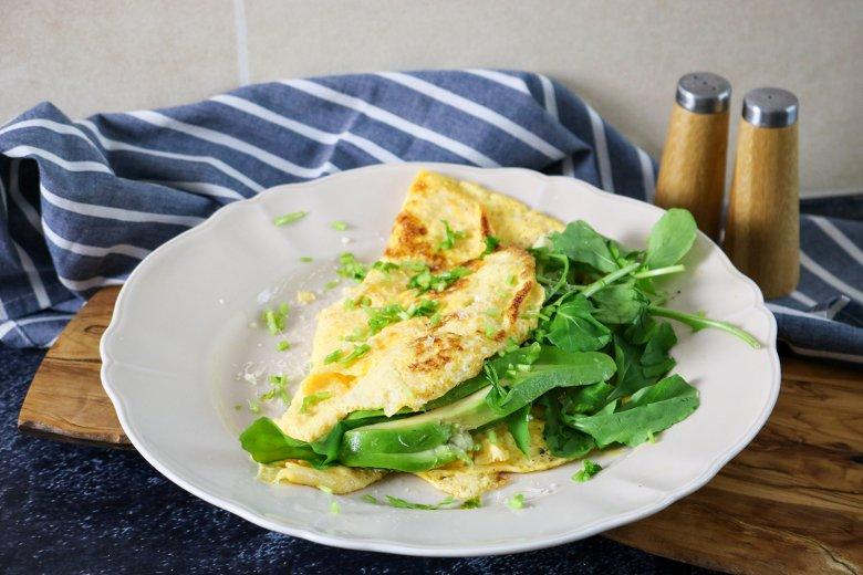 Gefüllte Omeletts