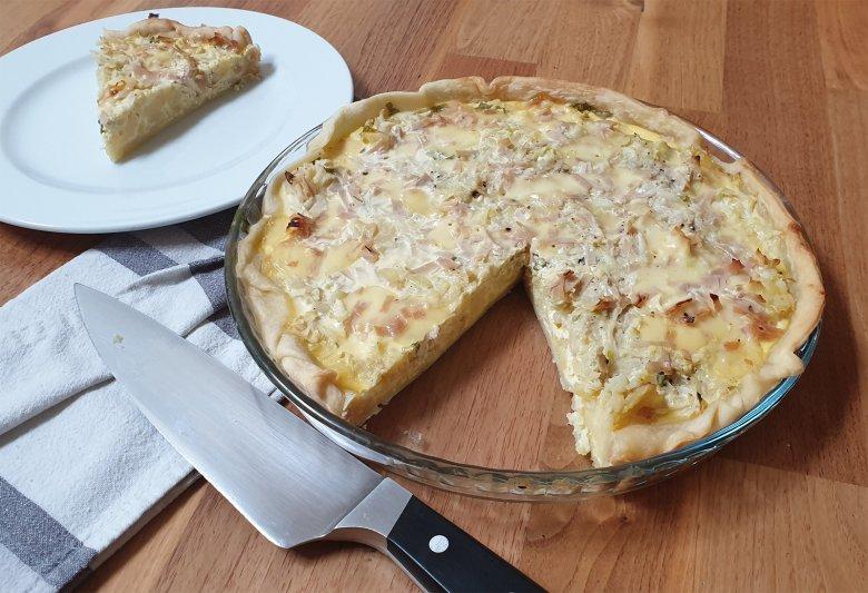 Schinken Käse Tarte