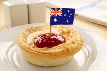 Australische Fleischkuchen