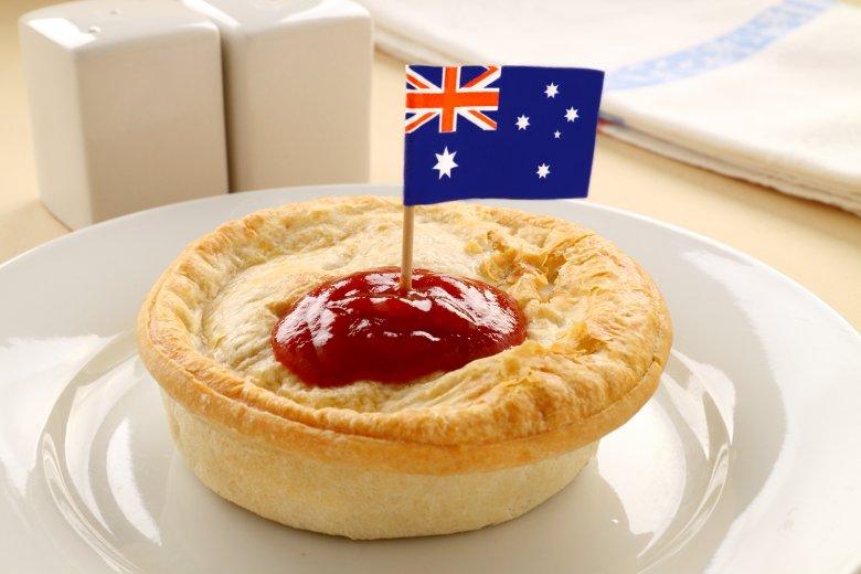 Australischer Fleischkuchen