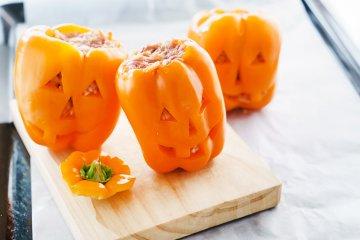 Paprika-Kürbisse