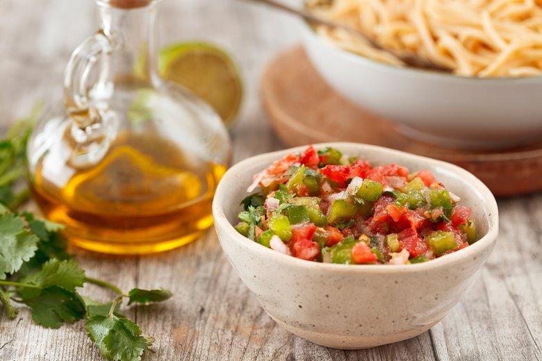 Tomaten-Limetten-Salsa