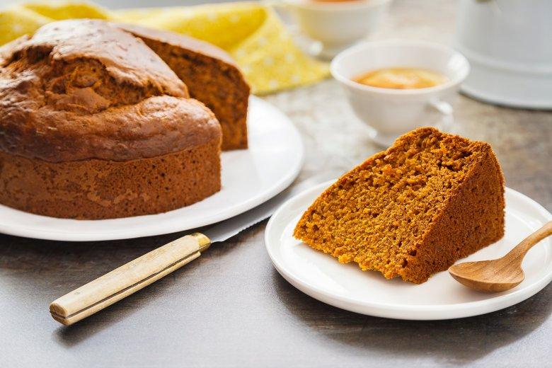 Süßkartoffel-Ingwer-Kuchen