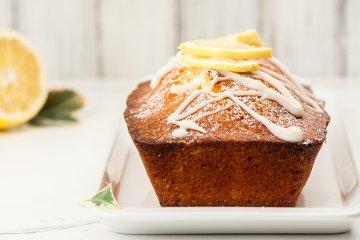 Bio-Zitronen-Kuchen