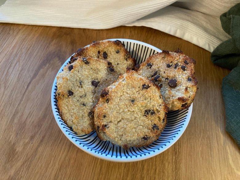 Vegane Schoko-Bananen-Kokos-Kekse