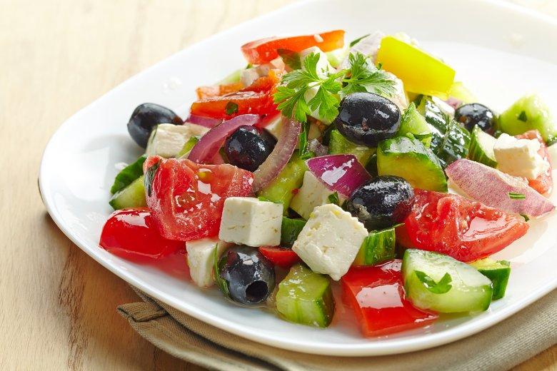 Griechischer Salat vegan