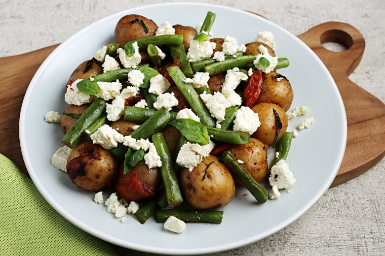 Bohnen-Kartoffelpfanne