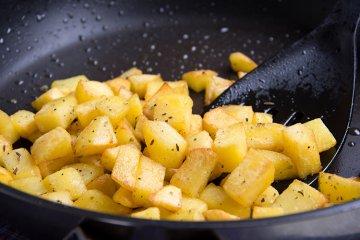 Klassische Bratkartoffeln