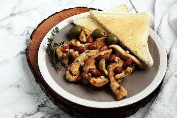 Hühnchen in Sherrysauce