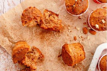 Vegane Apfelmuffins mit Zimt