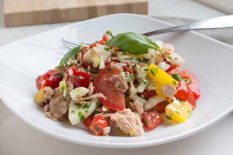 Spanischer Thunfischsalat
