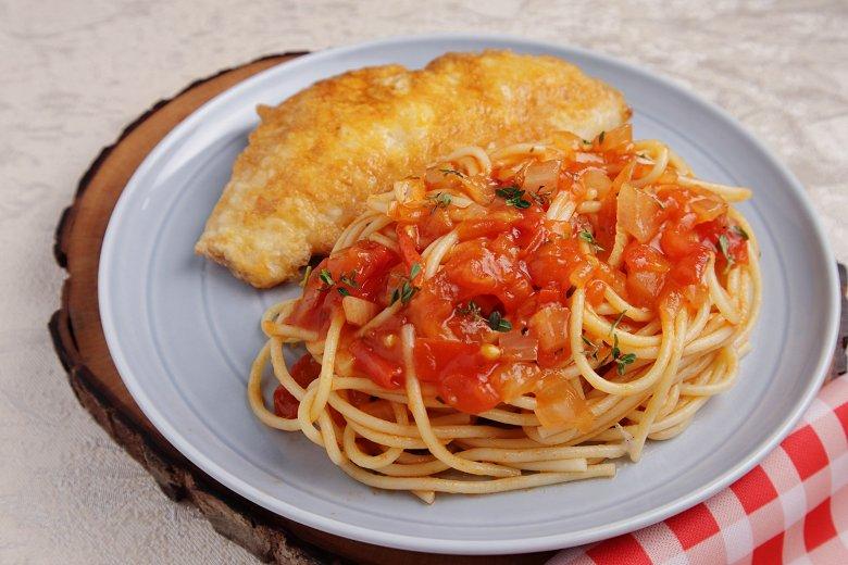 Spaghettini mit Fisch-Piccata