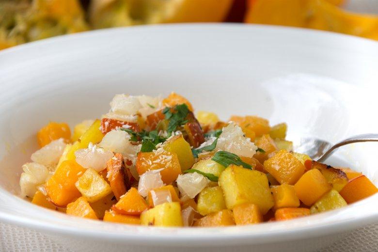 Curry-Kartoffel mit Kürbis