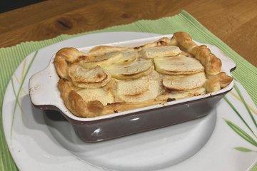 Apfel-Zwiebel-Kuchen