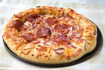 Pizzateig mit Dinkel