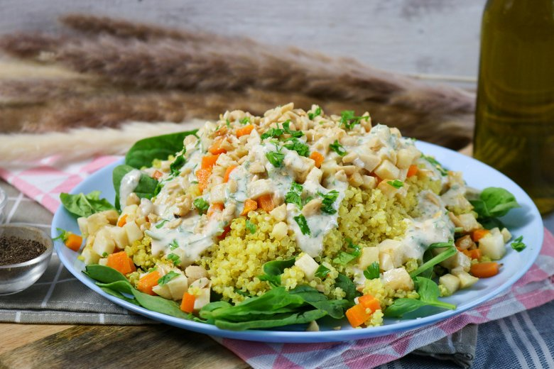 Gemüse-Buddha-Bowl
