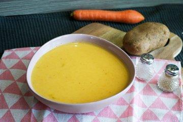 Gemüse-Kartoffelsuppe