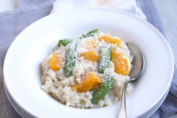 Vanille-Risotto