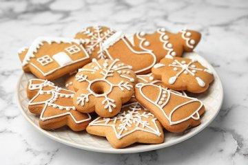 Eiweiß-Zuckerguss für Lebkuchen