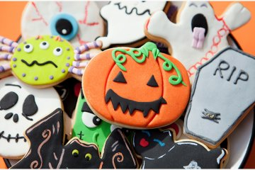 Halloween-Plätzchen