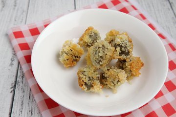 Oliven gefüllt und frittiert