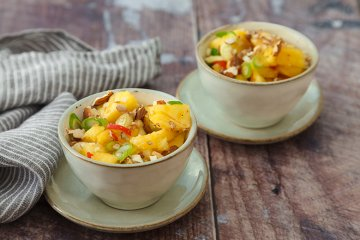 Scharfer-Ananas-Salat