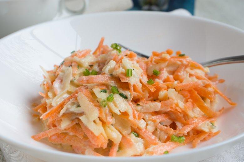 Rettich-Möhren-Salat