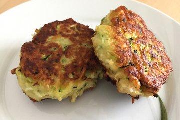 Zucchini-Kartoffel-Laibchen