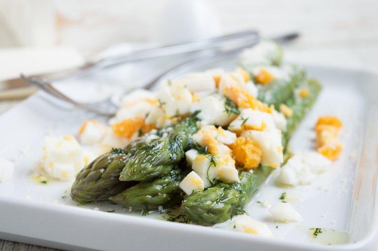 Grüner Spargel-Salat