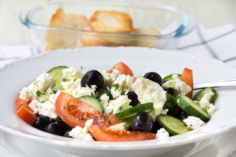 Schneller Olivensalat