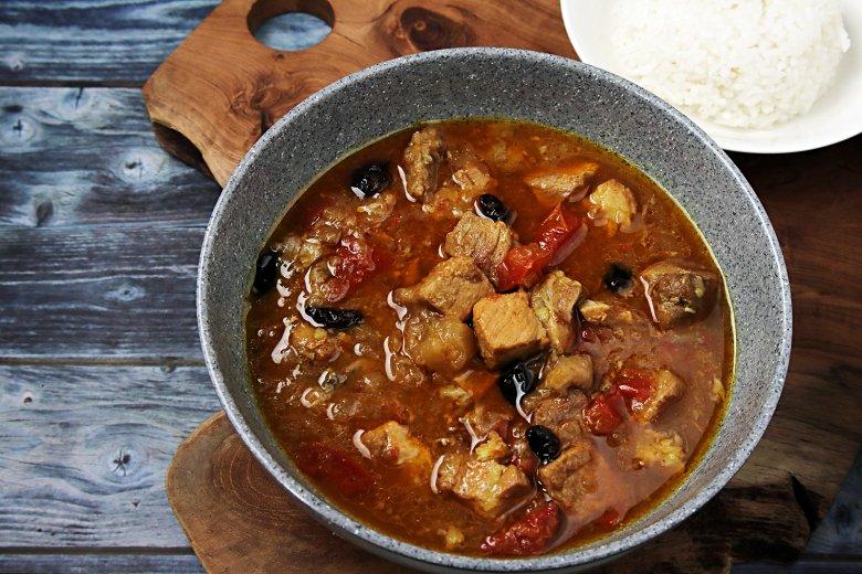 Currytopf nach karibischer Art