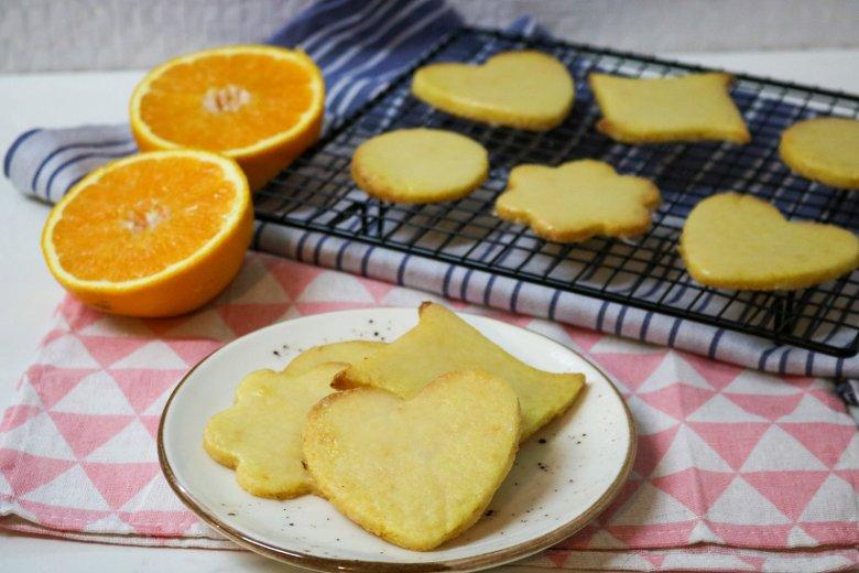 Orangenplätzchen