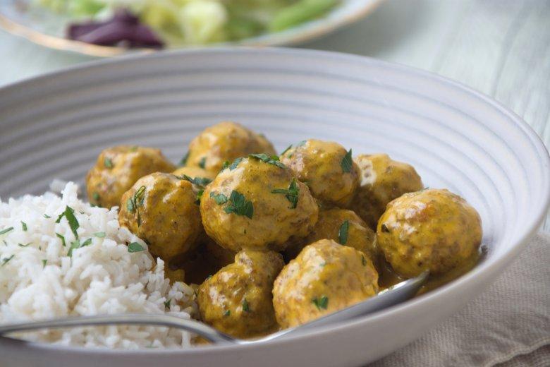 Fleischbällchen-Curry