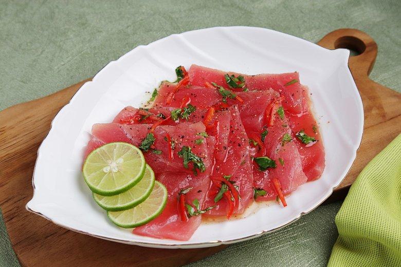 Thunfisch Carpaccio