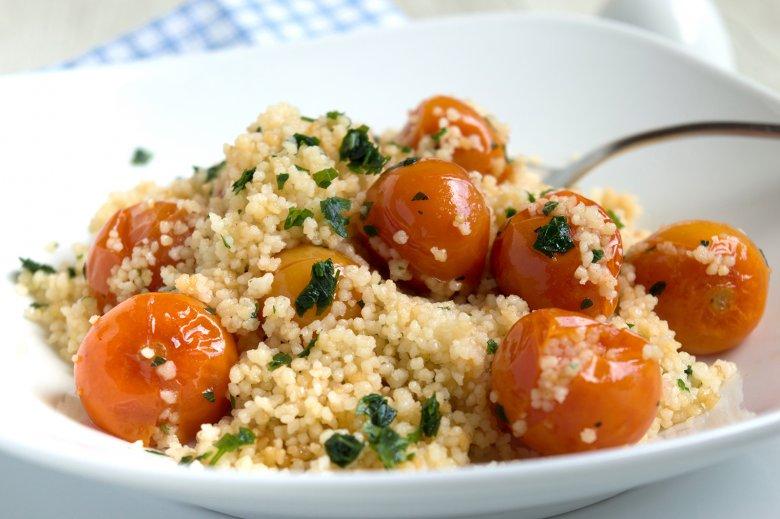 Couscous mit Tomaten