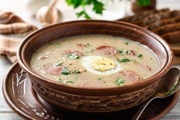 Polnische Mehlsuppe