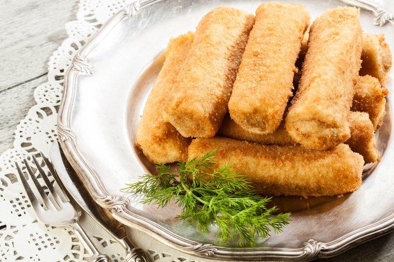 Polnische Pfannkuchen mit Hack