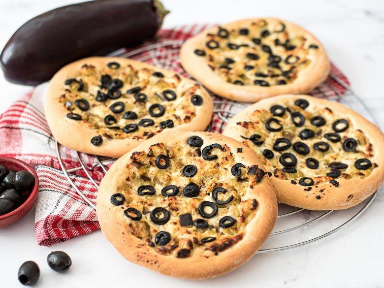 Pizzaplätzchen mit Ricotta
