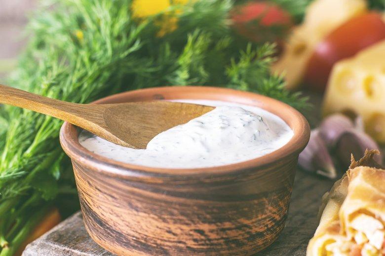Einfache Joghurtsoße