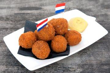 Holländische Fleischkroketten