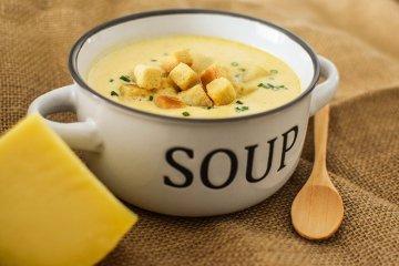 Gouda-Käsesuppe