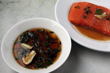Marinade für Fisch