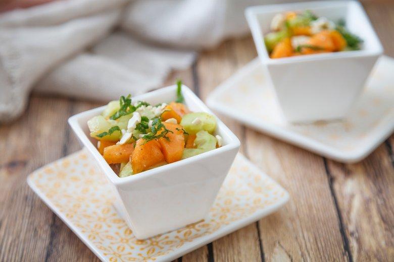 Papaya-Gurken-Salat